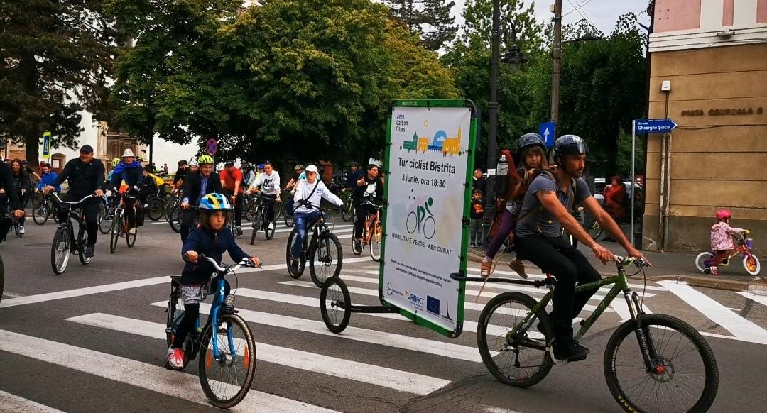 Ziua Bicicletei la Bistrița